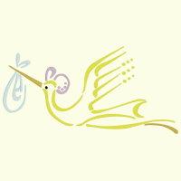Baby Set - Stork