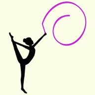 Gymnasts - Rhythmic Set
