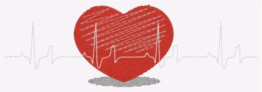 Heartbeat with 1 heart