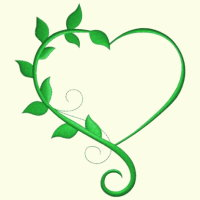 Heart & Leaves - 3 Sizes Included