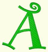 Alphabet - Pixie 2 Inch