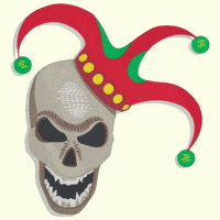 Skull Jester - 4 Sizes Included