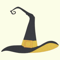 Witch Hat - 2 Sizes Included