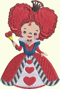 Alice In Wonderland Series - Queen Of Hearts