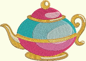 Alice In Wonderland Series - Teapot