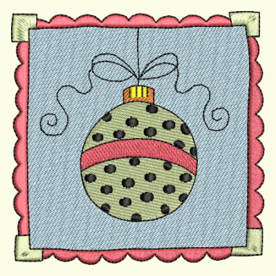 Christmas Stamp Ornament
