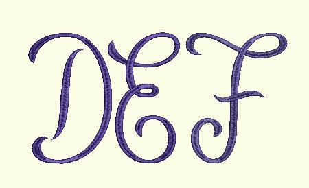 Monogram 1 DEF