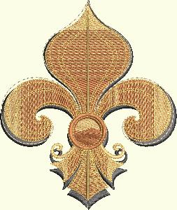 #157 Fleurdelis