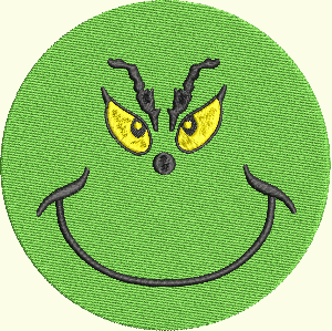 #156 Happy Face Grinch