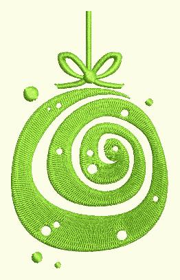 Swirl Ornament 3