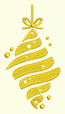 Swirl Ornament 4