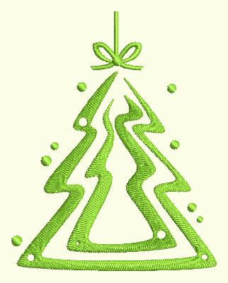 Swirl Ornament 5