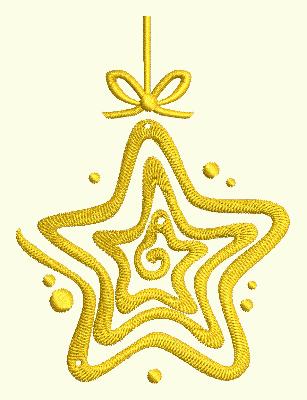 Swirl Ornament 6