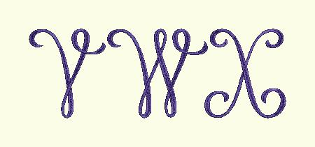 Monogram 1 - VWX
