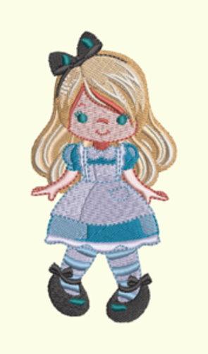Alice In Wonderland Series - Girl Alice