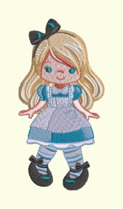 #113 Alice In Wonderland Series - Girl Alice
