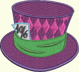 #123 Alice In Wonderland Series - Hat