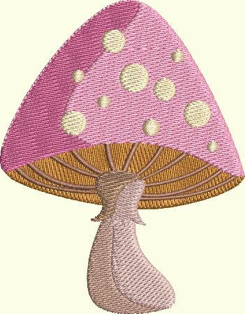 Alice In Wonderland Series - Mushroom 1