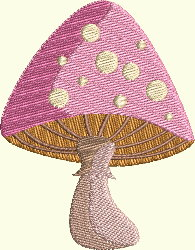 Alice In Wonderland Series - Mushroom 1