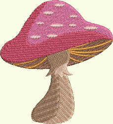 Alice In Wonderland Series - Mushroom 2