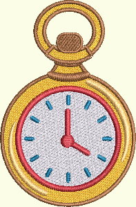 #120 Alice In Wonderland Series - Pocket Watch