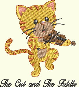 #135 Nursery Rhyme Series - Cat and The Fiddle
