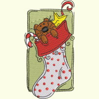 #093 Christmas Stocking