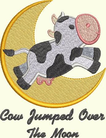 Nursery Rhyme Series - Cow Jumped Over The Moon