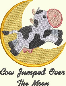 #134 Nursery Rhyme Series - Cow Jumped Over The Moon