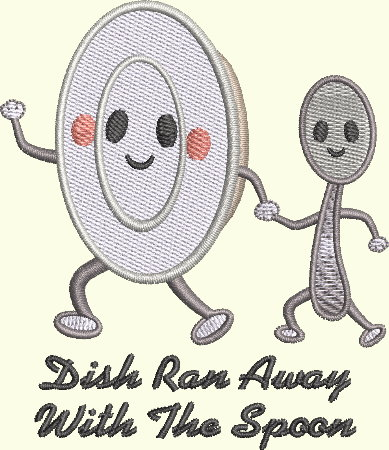 Nursery Rhyme Series - Dish Ran Away With The Spoon