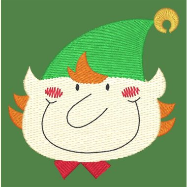Christmas Faces Set - 4 Designs - 2 Sizes of Each