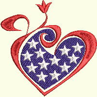 Heart Flag - 3 Sizes Included