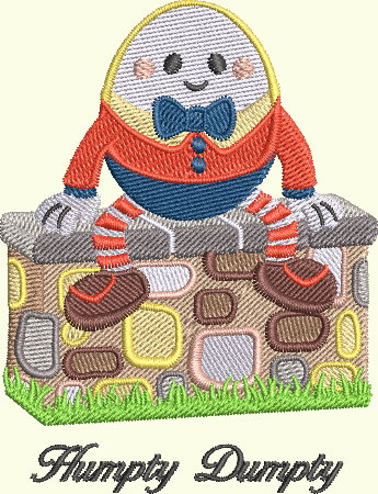 Nursery Rhyme Series - Humpty Dumpty