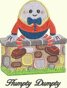 #136 Nursery Rhyme Series - Humpty Dumpty