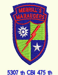 #109 Merrill's Marauders Badge (Free)