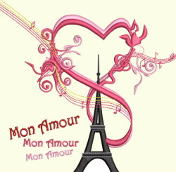 #100 Mon Amour Eiffel Tower