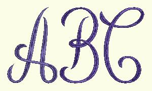 Monogram 1 Set - 7 Inch Letters