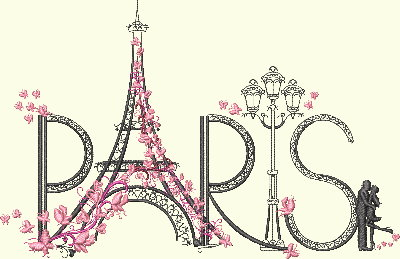 Paris Tower 1 - 3 Sizes Included