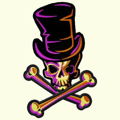 Skull & Cross Bones - 4 Sizes Included