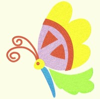 Spring Butterfly 012 - Single