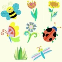 Purchase Entire Spring Designs Set of 8 Unique Designs in 2 sizes - Total 16 Designs