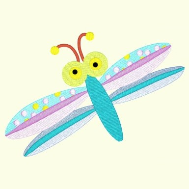 Spring Dragonfly 014 - Single