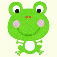 Spring Froggie 019 - Single