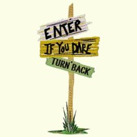 Halloween Turn Back Sign